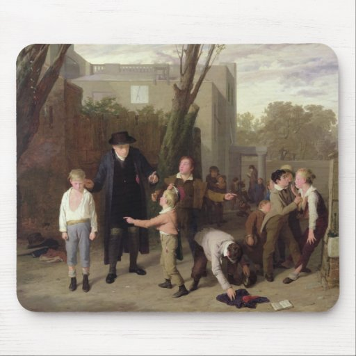The Fight Interrupted, 1815-16 Mouse Pad