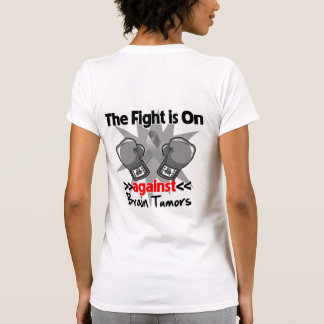 The Fight is On Against Brain Tumors Shirt
