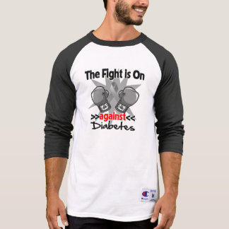The Fight is On Against Diabetes T-shirt