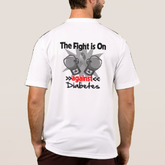 The Fight is On Against Diabetes Tee Shirt