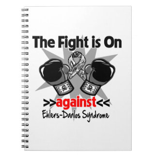 The Fight is On Against Ehlers-Danlos Syndrome Spiral Notebook