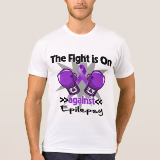 The Fight is On Against Epilepsy Shirt