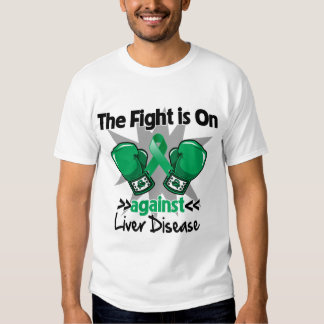 The Fight is On Against Liver Disease T Shirt