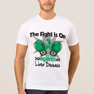 The Fight is On Against Liver Disease T-shirt