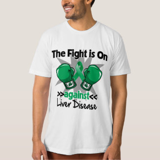 The Fight is On Against Liver Disease Tee Shirt