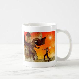The fight classic white coffee mug
