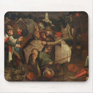 The Fight of the Blind Men, 1643 Mouse Pad