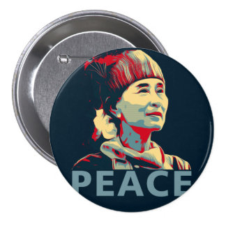 THE FIGHTER - Aung San Suu Kyi | Button