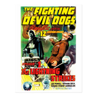 The Fighting Devil Dogs Postcard