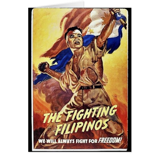 The Fighting Filipinos Greeting Card