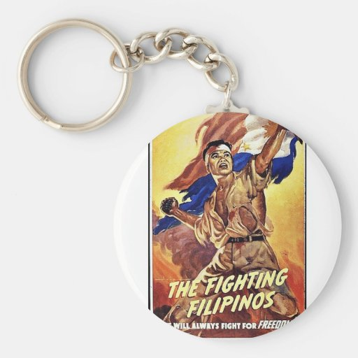 The Fighting Filipinos Key Chain