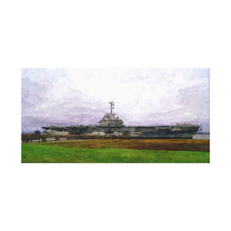 The Fighting Lady at Peace Canvas Print