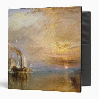 The Fighting Temeraire, 1839 3 Ring Binder