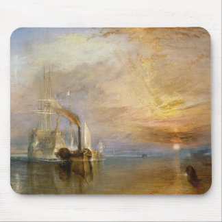 The Fighting Temeraire, 1839 Mouse Pad