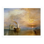 The Fighting Temeraire, 1839 Postcards