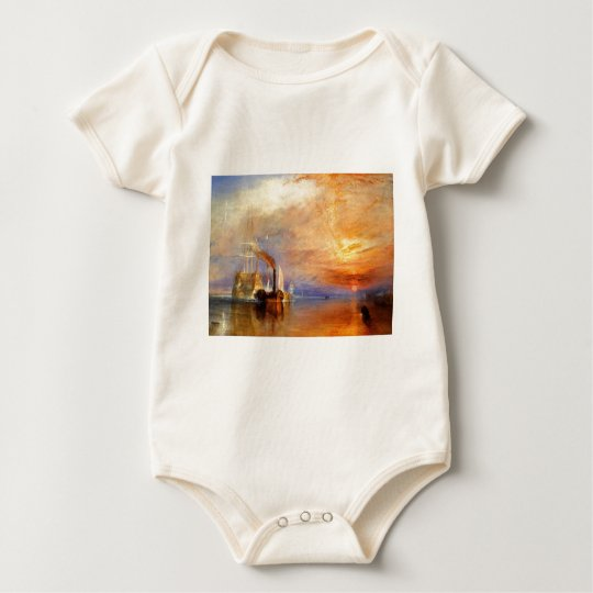 The Fighting Temeraire Baby Bodysuit