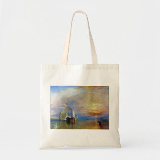 The Fighting Temeraire by J. M. W. Turner Canvas Bags
