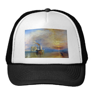 The Fighting Temeraire by J. M. W. Turner Hats