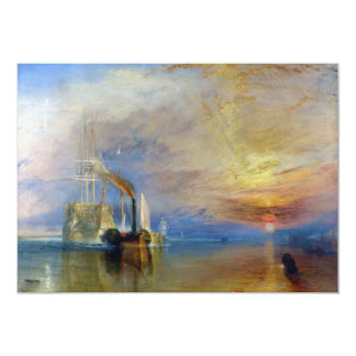 The Fighting Temeraire by J. M. W. Turner Announcements
