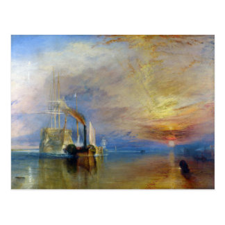 The Fighting Temeraire by J. M. W. Turner Postcard
