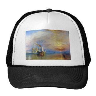 The Fighting Temeraire by J. M. W. Turner Trucker Hat