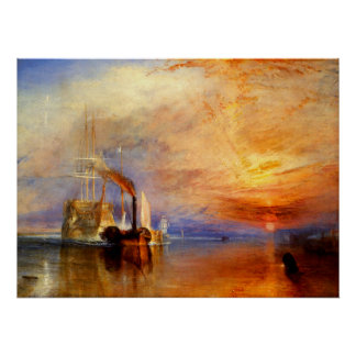 The Fighting Temeraire J M W Turner Poster