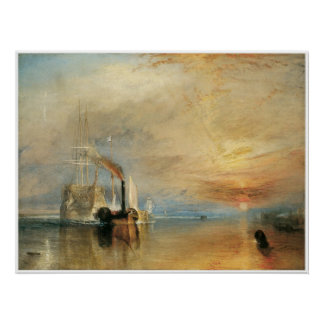 The fighting Temeraire J.M.W. Turner Poster