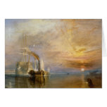 """The """"Fighting Temeraire"""" Tugged Card"""