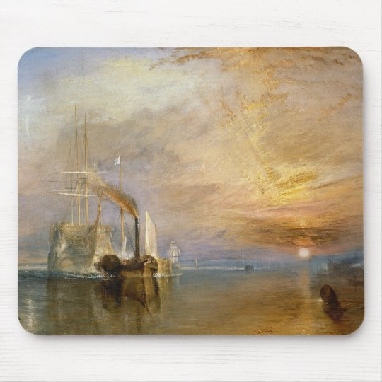 "The ""Fighting Temeraire"" Tugged Mouse Pad"