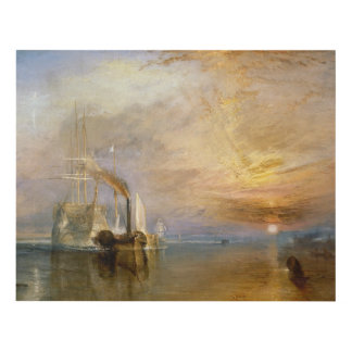 """The """"Fighting Temeraire"""" Tugged Panel Wall Art"""