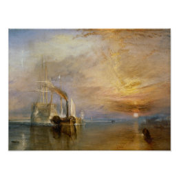 """The """"Fighting Temeraire"""" Tugged Poster"""