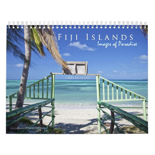 The Fiji Islands: Images of Paradise Wall Calendars