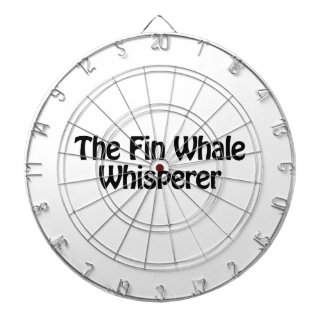 the fin whale whisperer dartboard