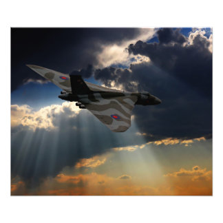 The Final Flight XH558 Photo Print