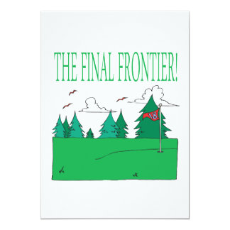 The Final Frontier Card