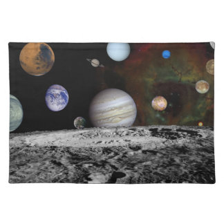 The Final Frontier Cloth Placemat