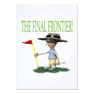 The Final Frontier 5x7 Paper Invitation Card