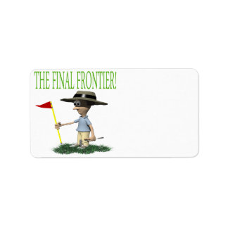 The Final Frontier Address Label