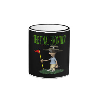 The Final Frontier Ringer Coffee Mug