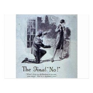 The Final No Postcard