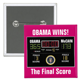 The Final Score Pinback Button