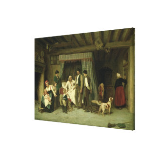 The Final Warning, 1886 Canvas Prints