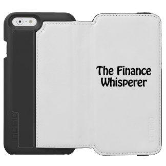 the finance whisperer incipio watson™ iPhone 6 wallet case