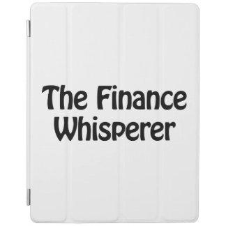 the finance whisperer iPad cover
