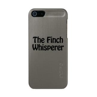 the finch whisperer metallic iPhone SE/5/5s case