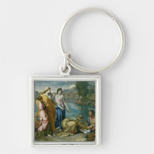 The Finding of Moses, 1638 Key Chains