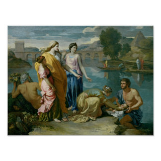 The Finding of Moses, 1638 Poster