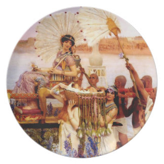 The Finding of Moses by Jean Leon Gerome Melamine Plate