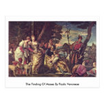 The Finding Of Moses By Paolo Veronese Post Card