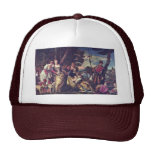 The Finding Of Moses By Veronese Paolo Mesh Hats